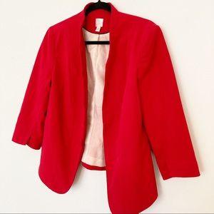 Lauren Conrad fitted red blazer - 10